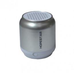 Głośnik Bluetooth nowy srebrny