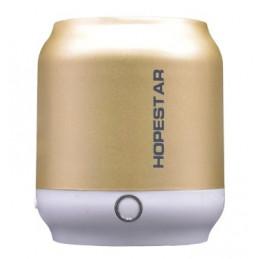Głośnik Bluetooth nowy złoty