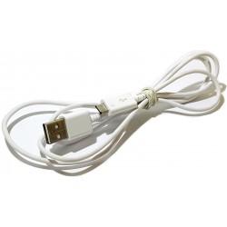 Kabel micro usb 1,2m biały...