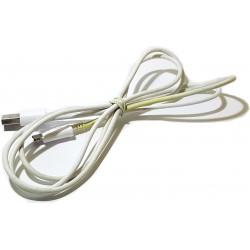 Kabel micro usb 1,5m biały...