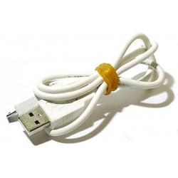 Kabel micro usb 0,8m biały...